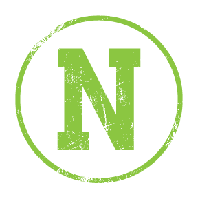 nblack photo logo green